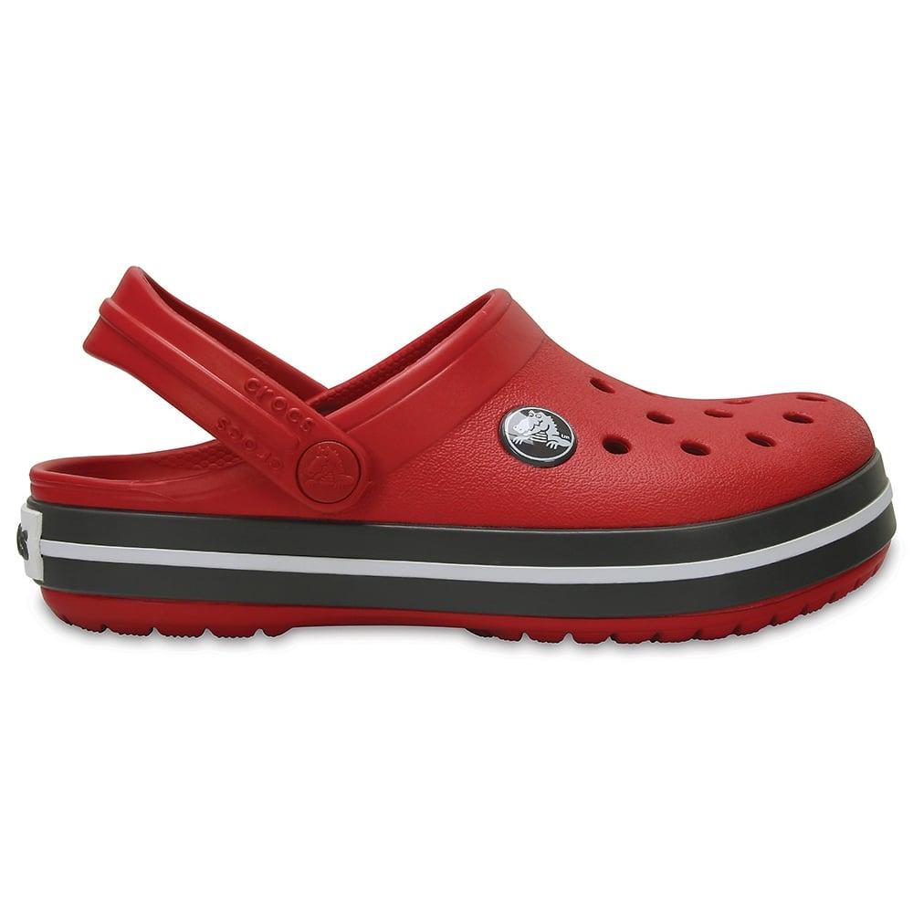 0ded0cb91cb160 Crocs Kids Crocband Clog (SS) Pepper Graphite - Kids from Jellyegg UK