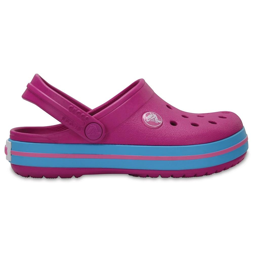 Kids Crocband Clog (SS) Vibrant Violet