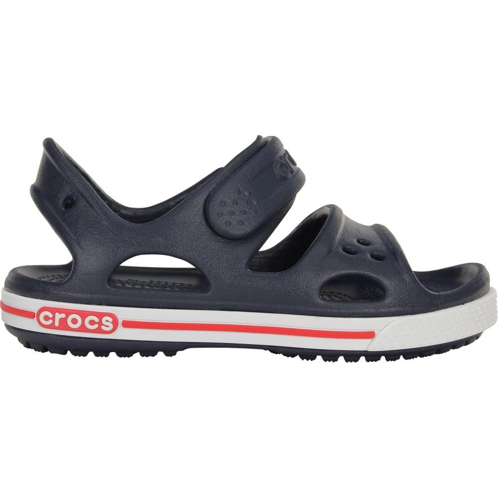 696b81ff1483 Crocs Kids Crocband II Sandal Navy White - Kids from Jellyegg UK