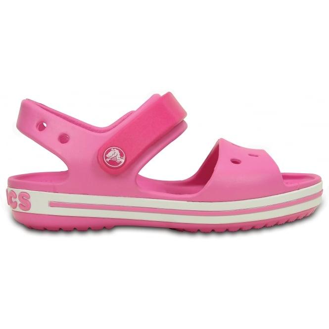 116bfc225fc2 Crocs Kids Crocband Sandal Candy Party Pink