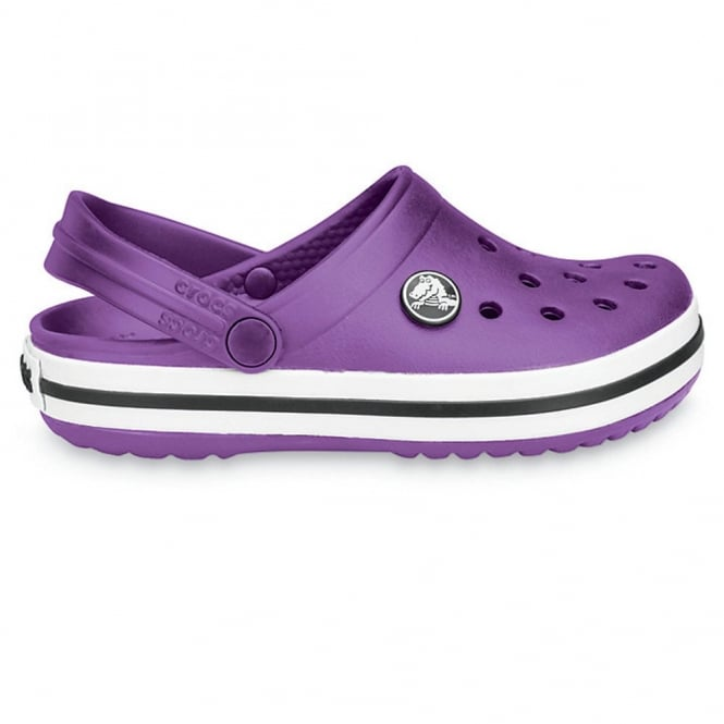 Crocs Kids Crocband Shoe Dahlia, All the comfort of a Classic but with a Retro look