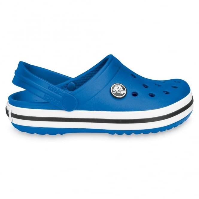 Crocs Kids Crocband Shoe Sea Blue, All the comfort of a Classic but with a Retro look