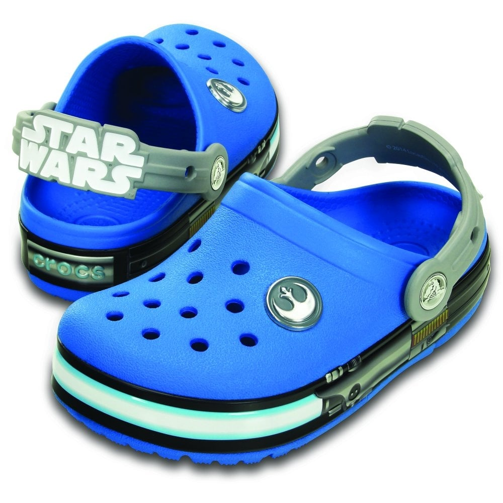 Crocs Kids Crocs lights Star Wars Jedi
