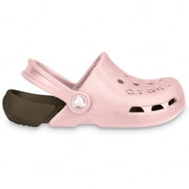 Kids Electro Shoe Cotton Candy/Chocolate, light weight clog, double colours - double fun!