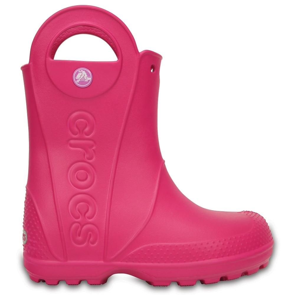 Crocs Kids Handle it Rain Boot Candy