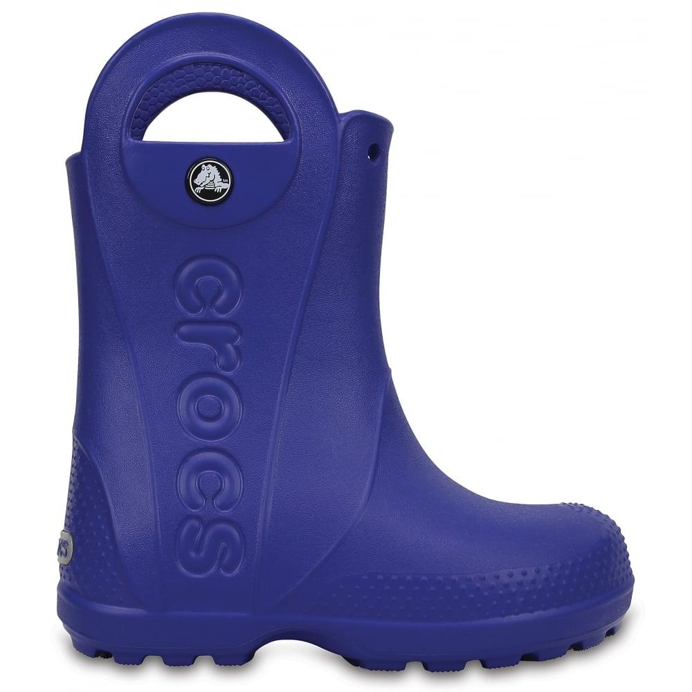 07f9ad713819fd Crocs Kids Handle it Rain Boot Cerulean Blue