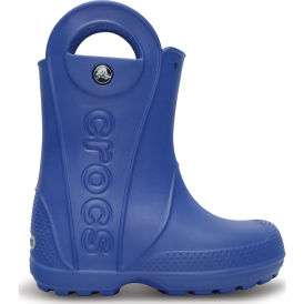 Kids Handle it Rain Boot Sea Blue, Easy on wellington