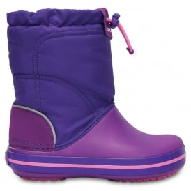 Crocs Kids Lodgepoint Boot Amethyst/Ultraviolet