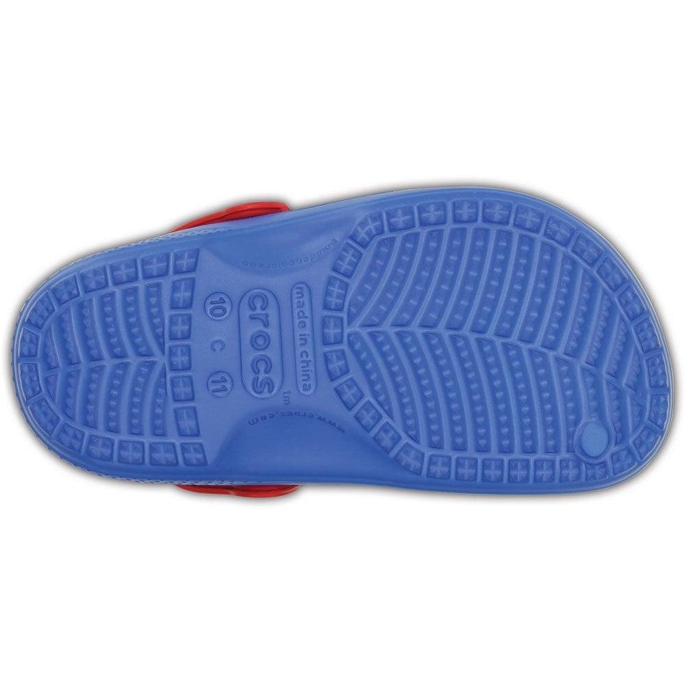 fc300788ef67b Crocs Kids Spiderman Lined Clog Varsity Blue
