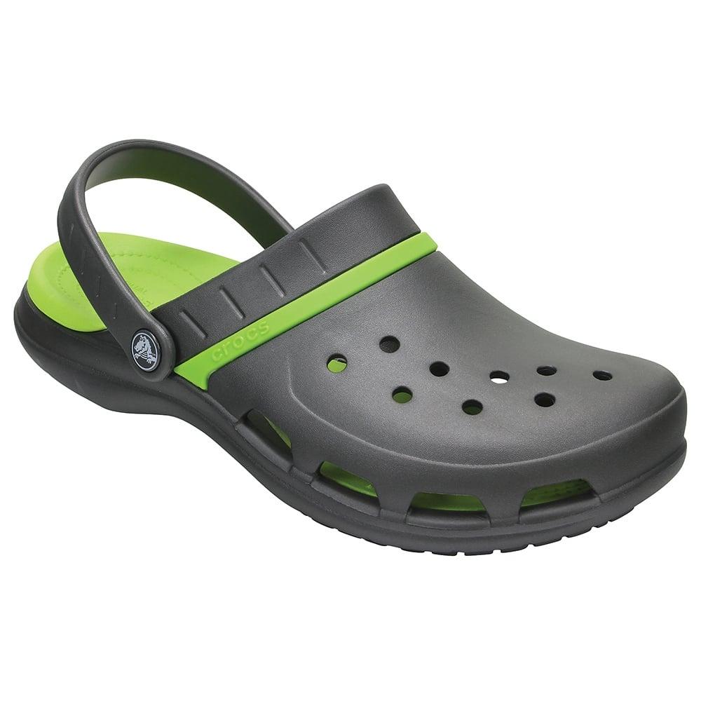 72107a8e5bbf Crocs Modi Sport Clog Graphite Volt Green