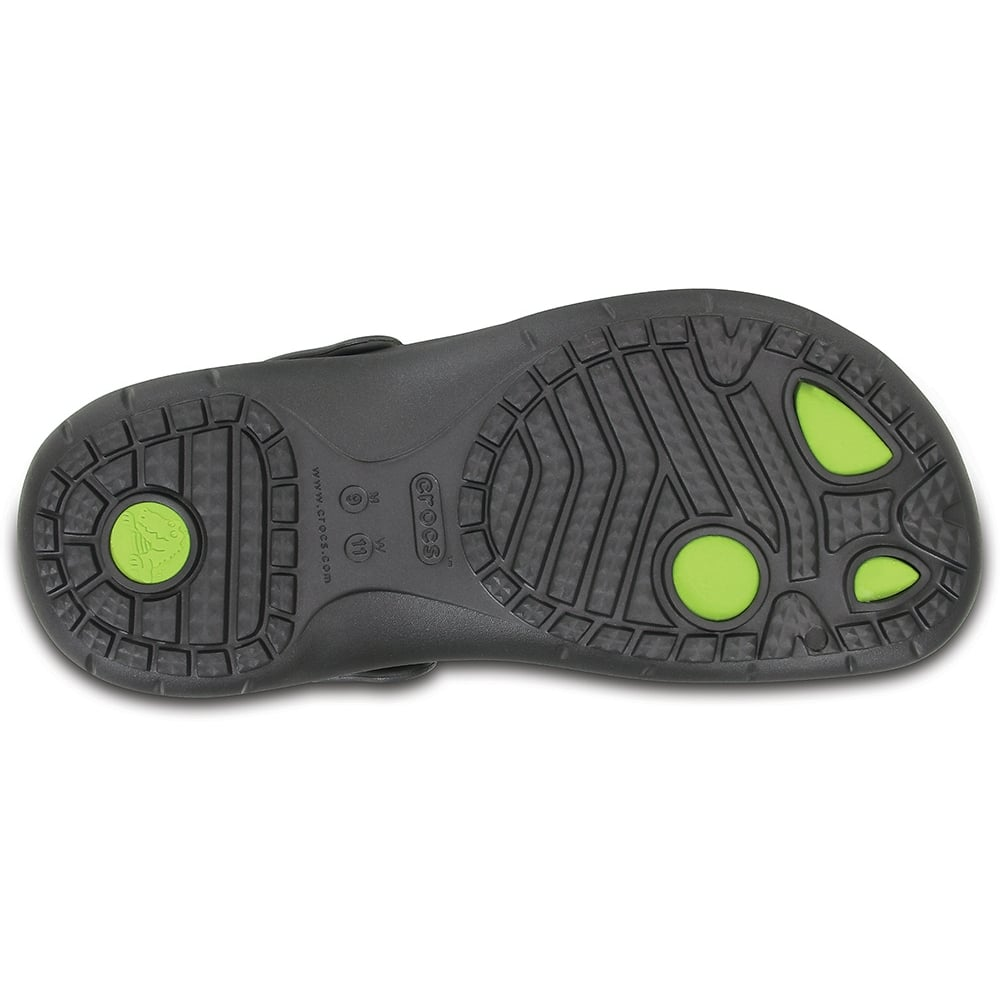 276d2aee5dcf Tap image to zoom. Modi Sport Clog Graphite Volt Green