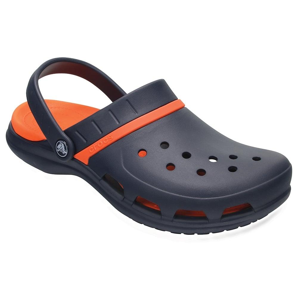 6ee30a041d6f Crocs Modi Sport Clog Navy Tangerine