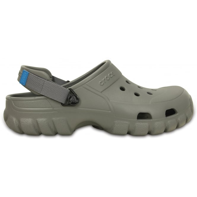 Crocs Offroad Sport Clog Smoke/Charcoal, the comfort of a classic but with a rugged look & adjustable heel strap