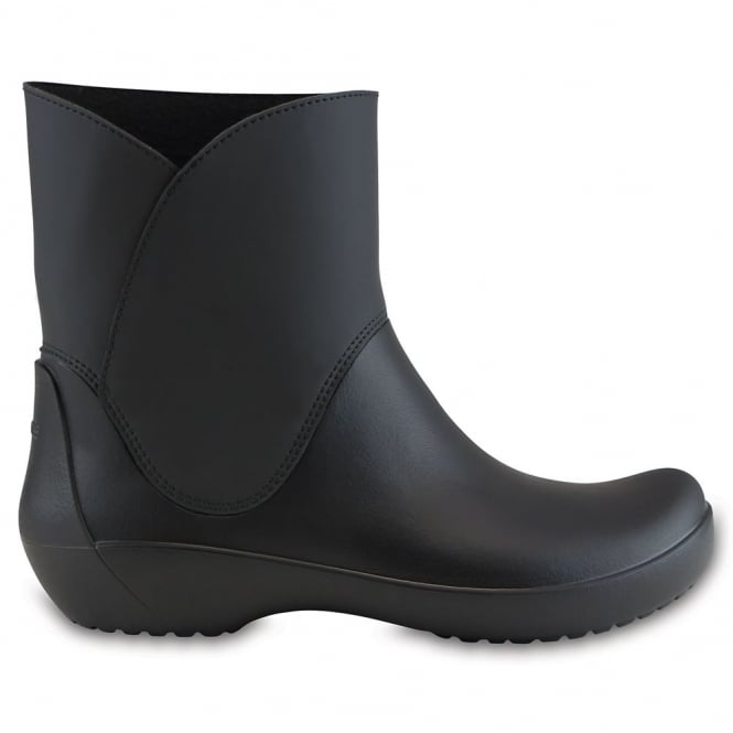 Crocs Rainfloe Bootie Black, waterproof ankle wellie boot
