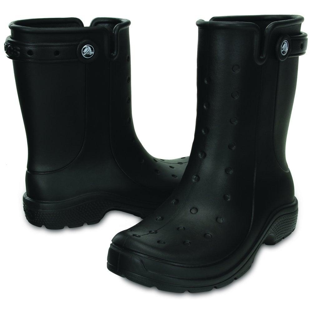 fb3ff65cd752 Crocs Reny II Black