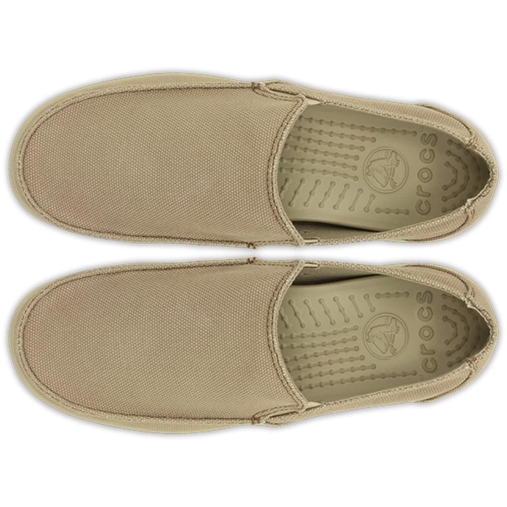 66b73478bfd Crocs Santa Cruz Clean Cut Loafer Khaki Cobblestone - Men from ...