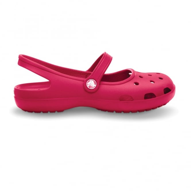 Crocs Shayna Raspberry, A Mary-Jane style Croslite sling back shoe