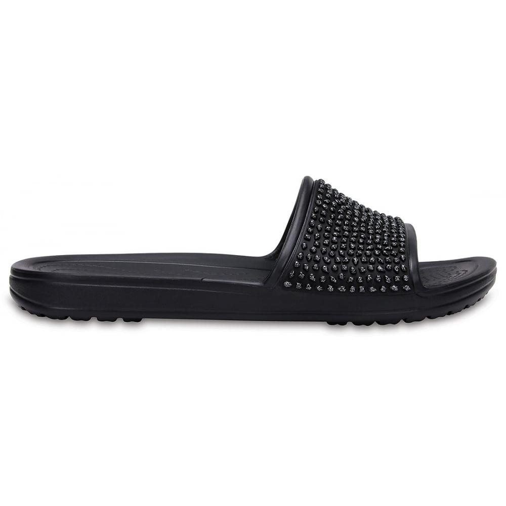 1999ae7e0156 Crocs Sloane Embellished Slide Black Black