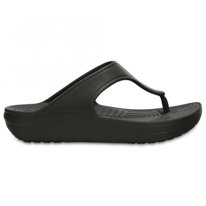 Crocs Sloane Platform Flip Black, a pretty and feminine everyday platform flip flop