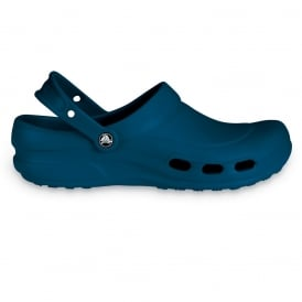 Specialist Clog Vent Navy, Light and comfortable work shoe with ventilation ports