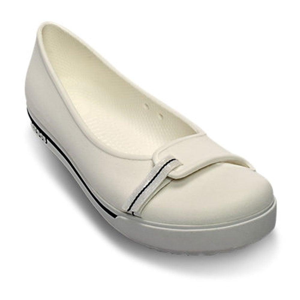 9af97579779313 Crocs Womens Crocband II.5 Flat White Navy
