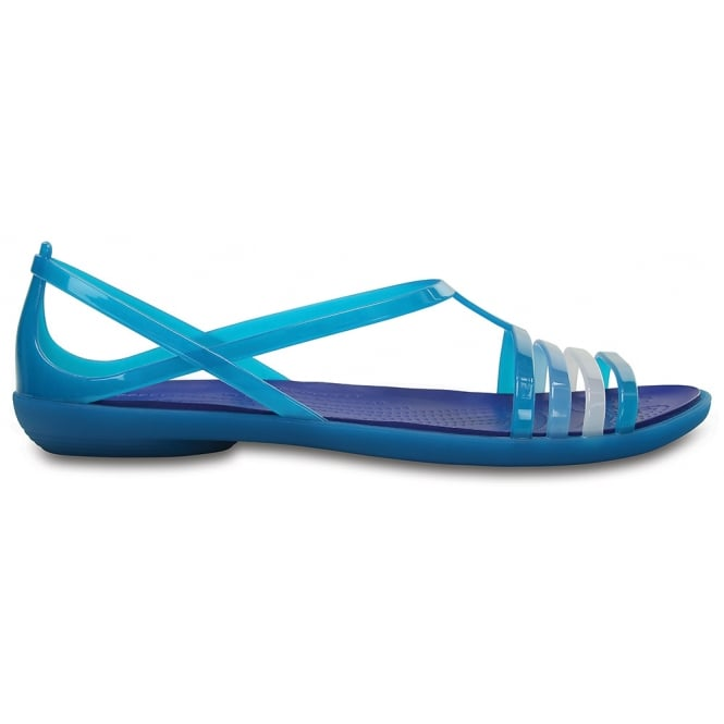 663af3ca2a43 Crocs Womens Isabella Sandal Turquoise Cerulean Blue - Women from ...