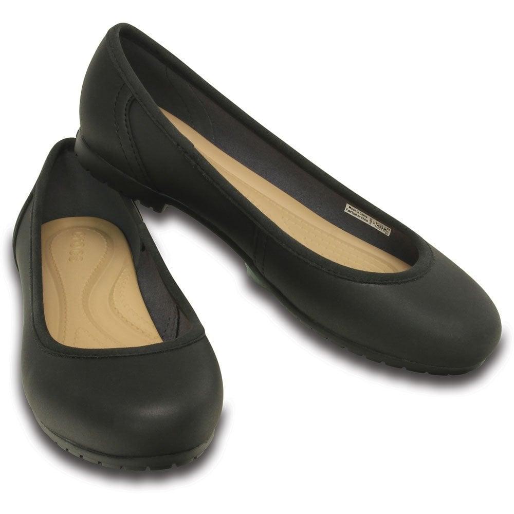 Womens Marin Colourlite Flat Black/Black, a great basic pump
