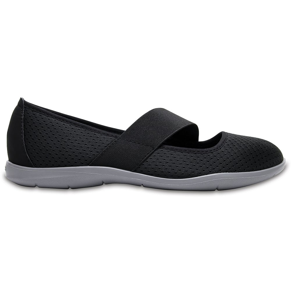 a1e651e78 Crocs Womens Swiftwater Flat Black