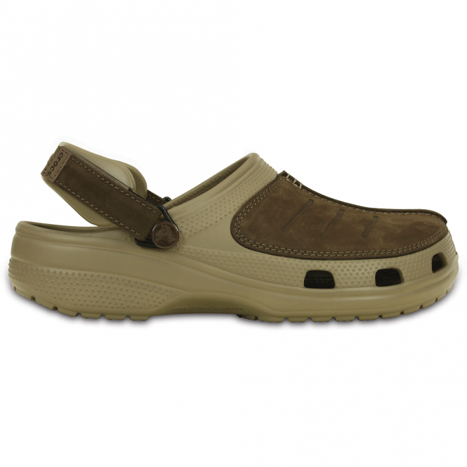 Crocs Yukon Mesa Clog Khaki/Espresso, the new take on the best selling Yukon clog