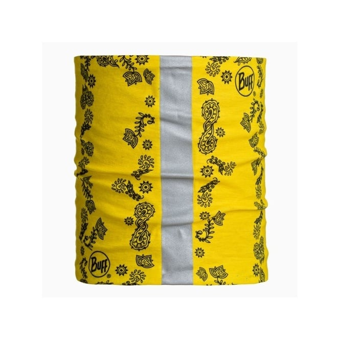Buff Dog 2014 Yellow (S/M), Neckwear with reflective strip
