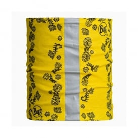 Dog Buff 2014 Yellow (S/M), Neckwear with reflective strip
