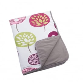 Dream Summer Cotton 75x100cm Tree Berry, Ultra soft and snug ideal to wrap babies at home or on outings