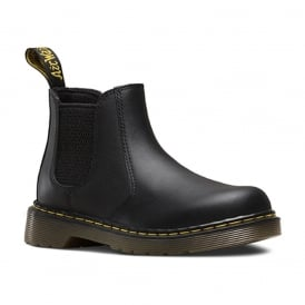 Banzai Boot Junior Black, the classic chelsea boot made for smaller feet