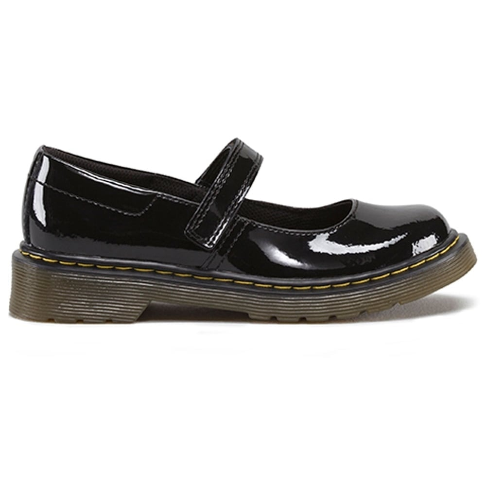 6b25c9a4 Maccy Patent Youth School MJ Patent Black, patent mary jane school shoe