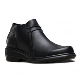 Selima Boot Black, Dc Martens but with a sleeker feel