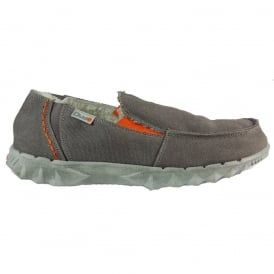 Dude Chalet Funk Grey, Fur lined Casual shoe
