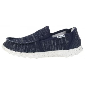 Dude Farty Sox Jeans, textured slip on mule