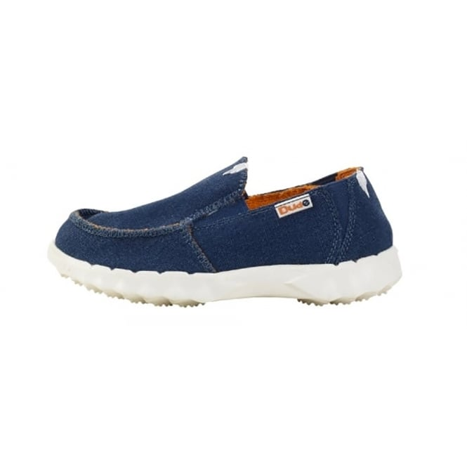 Dude Kids Farty Sea Blue, The original shoe but smaller!