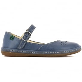 El Naturalista E824 Junior Nayade Flat Crepusculo, stylish leather flat