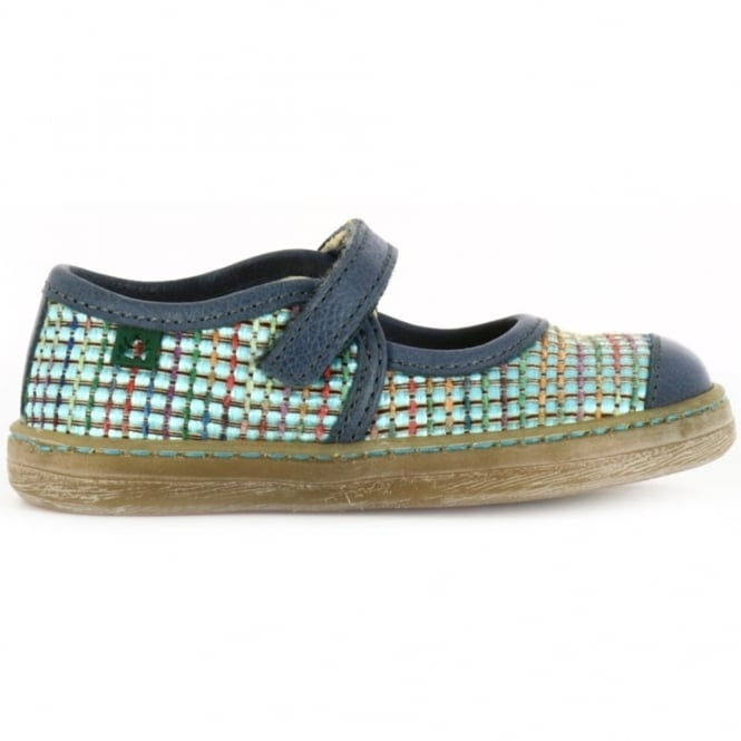 El Naturalista Junior E049 Kepina Crepusculo, leather flat for fun and comfort