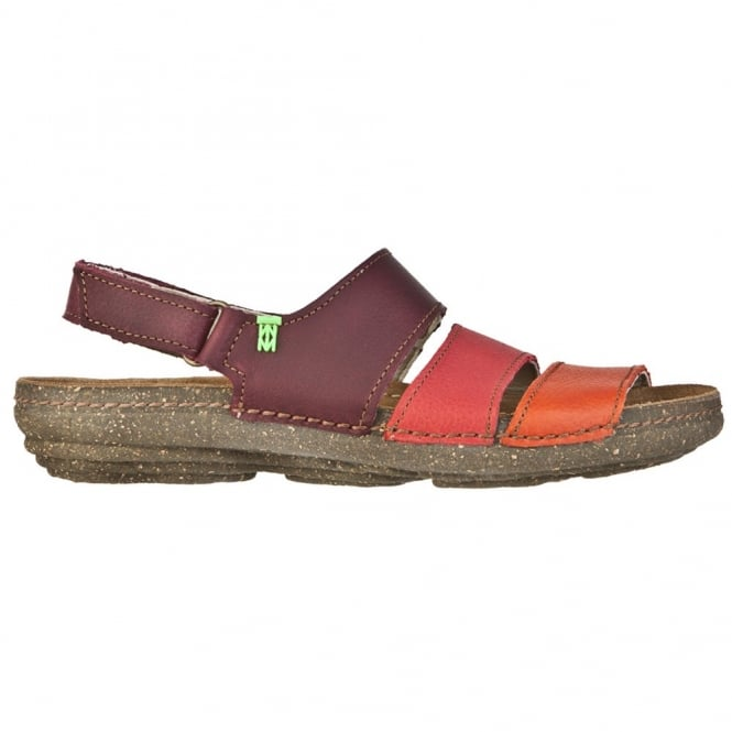 El Naturalista N317 Torcal Sandal Grosella Mixed, anatomical insoles adapt perfectly to the outline of your feet