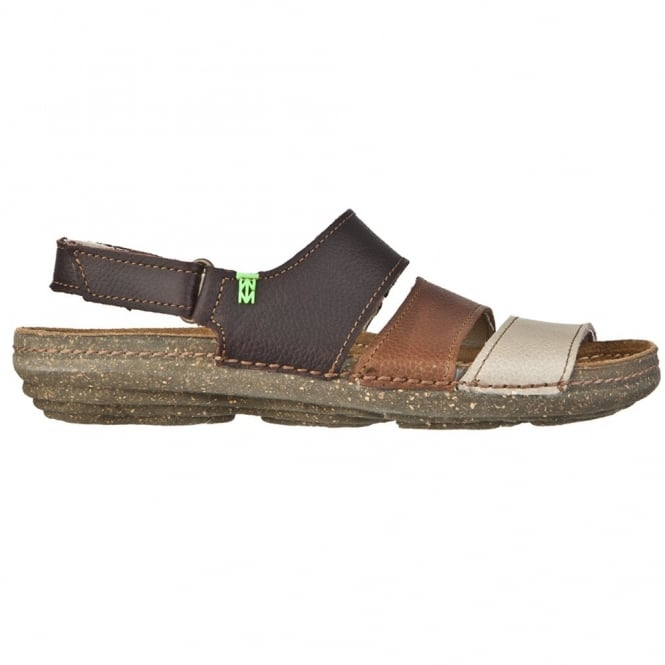 El Naturalista N317 Torcal Sandal Wood Mixed, anatomical insoles adapt perfectly to the outline of your feet
