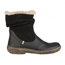 El Naturalista N758 Boot Black , style, warmth and comfort in one boot