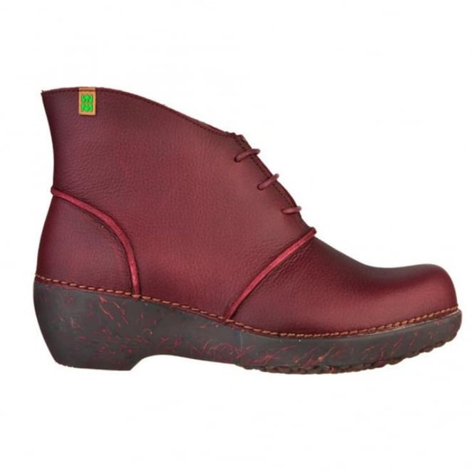 El Naturalista NC75 Boot Rioja, ankle boot with a wedge