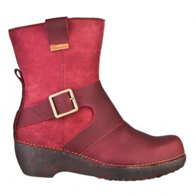 El Naturalista NC77 Boot Tricot Rioja, Smart boot with buckle detail