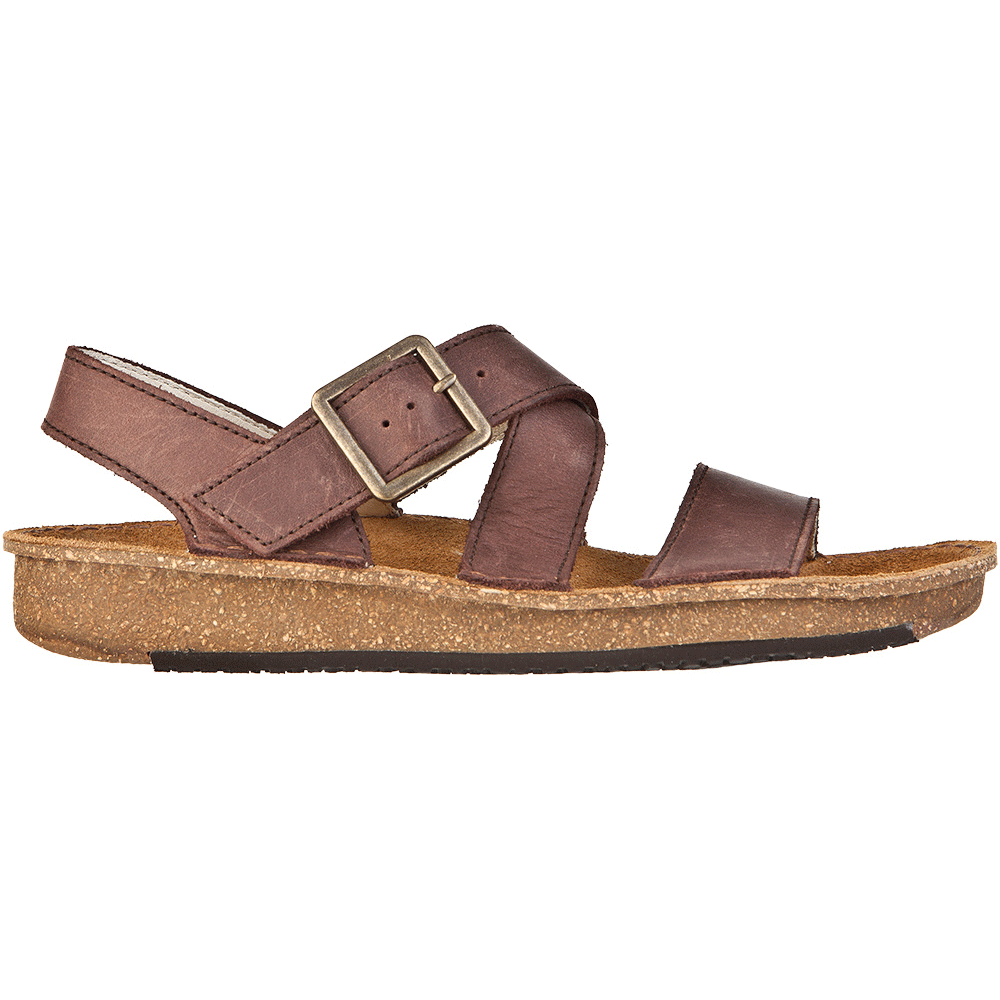 From Women BrownChunky Nd30 Leather Sandal Contradiction 7Ybfyg6