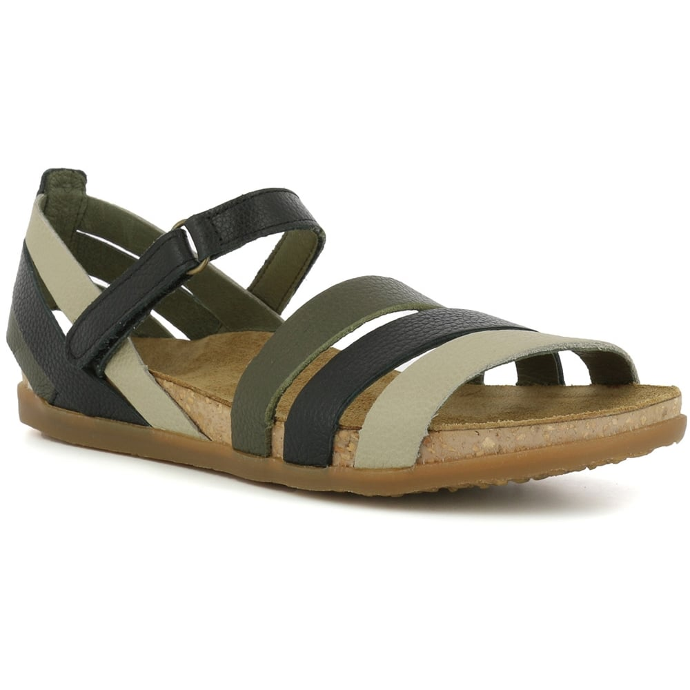 NF42 Sandal Zumaia Black, Soft Leather sandal