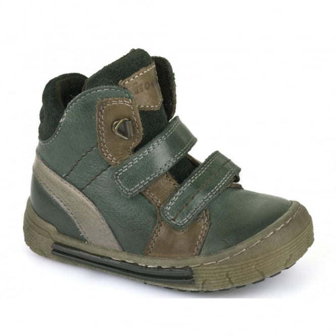 Froddo Boys Velcro Ankle Boot G2110052-2 Green, velcro ankle boot
