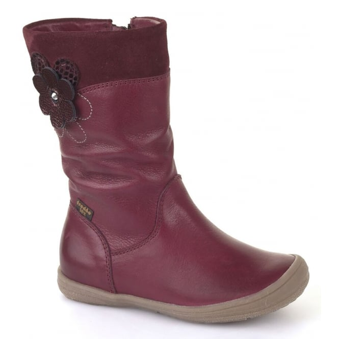 Froddo G3160063-2 Bordeaux Junior Leather Boot