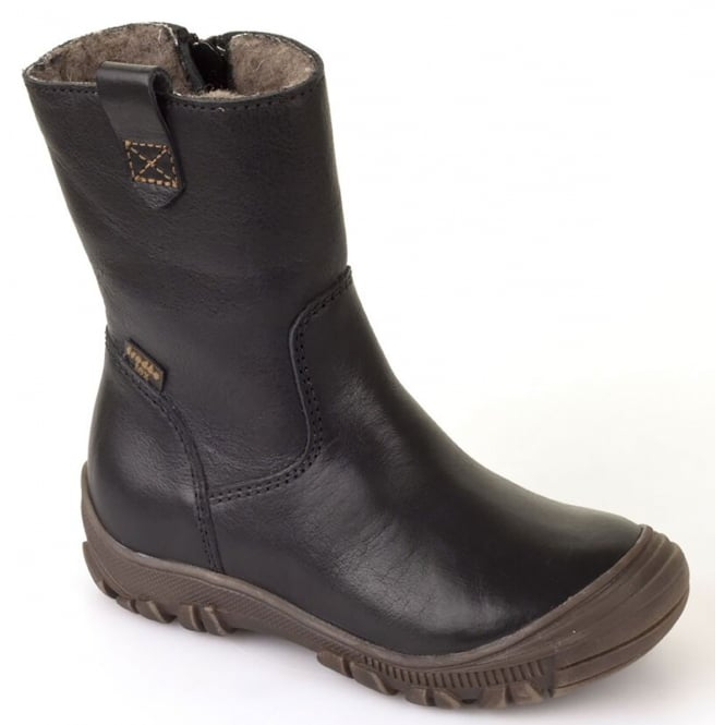 Froddo G3160074-3 Black Youth Leather Boot